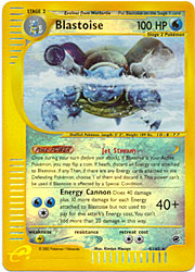 Pokemon Expedition - Blastoise Holofoil