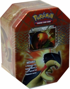 Pokemon HeartGold & SoulSilver Typhlosion Collector Tin