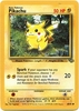 Pokemon Jungle Common Card - Pikachu 60/64