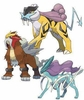 Pokemon Legendary Beasts Set of all 3 Pin Collections [Raikou, Entei & Suicune] (Pre-Order ships May)