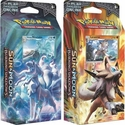 Pokemon Sun & Moon Burning Shadows Rock Steady & Frost Set of Both Theme Decks