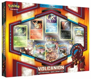 Pokemon Volcanion Mythical Collection Deluxe Box