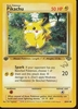 Pokemon (W Stamped) Common Promo Card - Pikachu 60/64