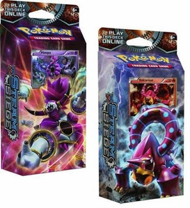 Pokemon XY Steam Siege Theme Deck Set (2 Decks)