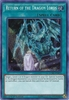 Return of the Dragon Lords LCKC-EN074 Secret Rare - Legendary Collection Kaiba