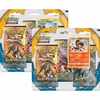 Sun & Moon Pokemon 3 Pack Blister Togedemaru or Litten