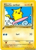 Surfing Pikachu World Collection Promo Card