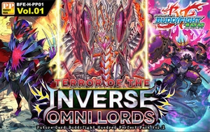Terror of the Inverse Omni Lords Booster Pack - Future Card Buddyfight