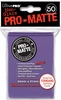 Ultra Pro Pro-Matte Standard Sized Sleeves - Purple (50 Card Sleeves)