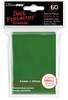 Ultra Pro Small Sized Sleeves - Green (60 Card Sleeves)