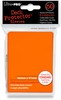 Ultra Pro Standard Sized Sleeves - Orange (50 Card Sleeves)