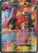 Volcanion EX 107/114 Full Art - Pokemon XY Steam Siege Card