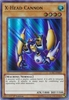 X-Head Cannon LCKC-EN005 Ultra Rare - Legendary Collection Kaiba