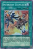 Yugioh 5D's Shining Darkness Single Super Rare Infernity Launcher Card
