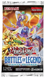 YuGiOh Battles of Legend Light's Revenge Booster Pack