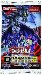 YuGiOh Dragons of Legend 2 Booster Pack