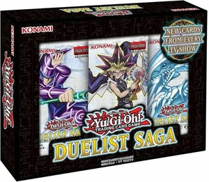 YuGiOh Duelist Saga Mini Box - 3 Mini Packs