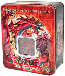 YuGiOh GX 2006 Uria Lord of Searing Flames Tin - YuGiOh TinsYugioh Uria Deck