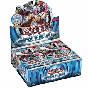 YuGiOh Judgment Of The Light Booster Box