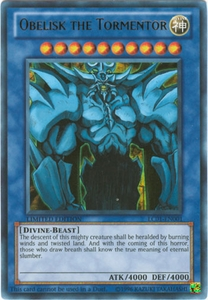 YuGiOh Legendary Collection Card - Obelisk the Tormentor LC01-EN001