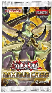 YuGiOh Maximum Crisis Booster Pack