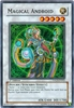 Yugioh! The Duelist Genesis -  Magical Android Super Rare (Holofoil)
