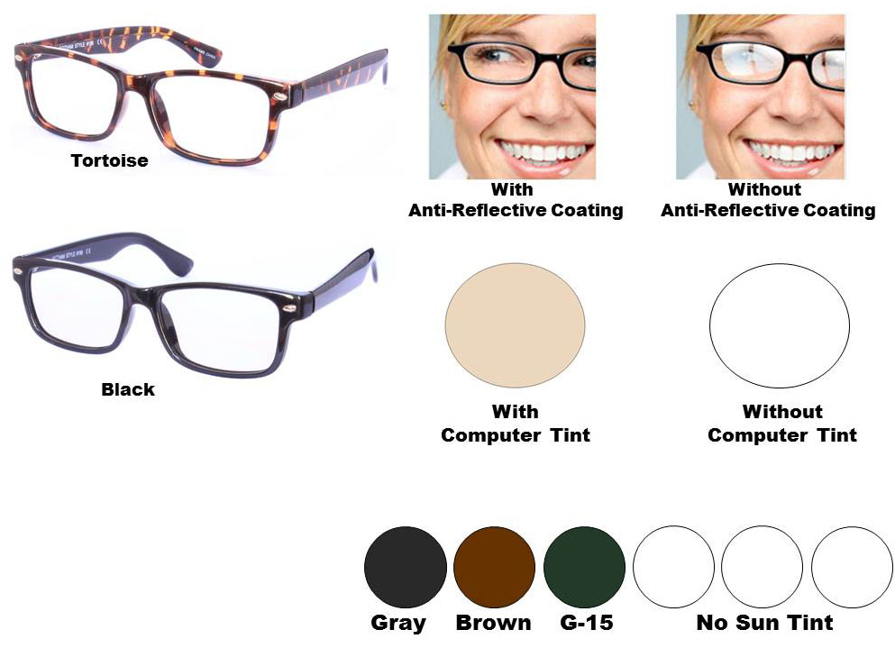 multi view computer reading glasses style 56