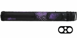 Athena Purple 2 Butt 2 Shaft Hard Case