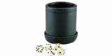 Dice Cup with Dice