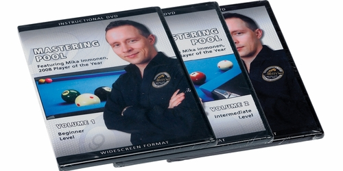 Mastering Pool DVD Featuring Mika Immonen - 3 Disc Set