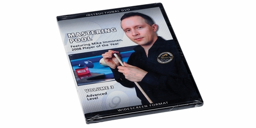 Mastering Pool DVD Featuring Mika Immonen - Vol. 3 Advanced Level