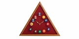Triangle Billiards Clock