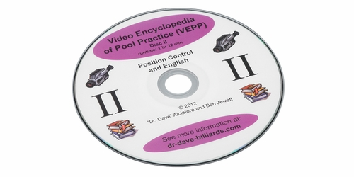 Video Encyclopedia of Pool Practice - Disc 2 Position Control