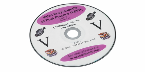 Video Encyclopedia of Pool Practice - Disc 5 Challenges, Games and Advice