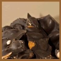 Almond Bark - Dark Chocolate (1 lb. box)