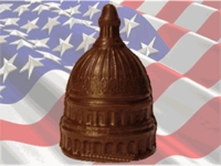 Capitol Dome - Solid Milk Chocolate (click on photo for larger image)