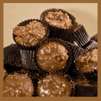 Coconut Clusters - Milk Chocolate (1 lb. box)