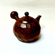 Beveled Side-handle Tea Pot