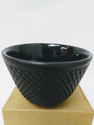 Black Nail-Head Iron Cup