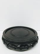Black Wood Pedestal 1
