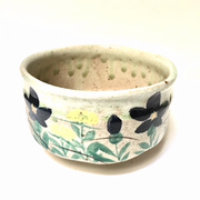 Blue Flower Tea Bowl