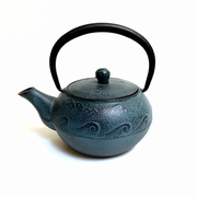 Blue Iron Teapot