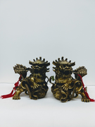 Brass Guardian Lions