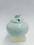 Celadon Bowl with Lid