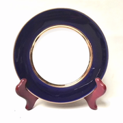 Cobalt Blue and Gold Plate L