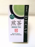Decaf Green Teabags from Japan