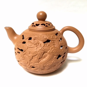 Double Wall Dragon Teapot