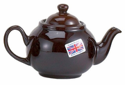 English Brown Betty Teapot - 8-cup