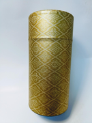 Gold Washi Paper Tea Canister