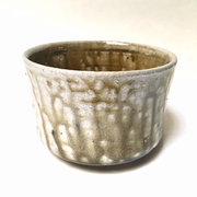 Green Drip Tea Bowl